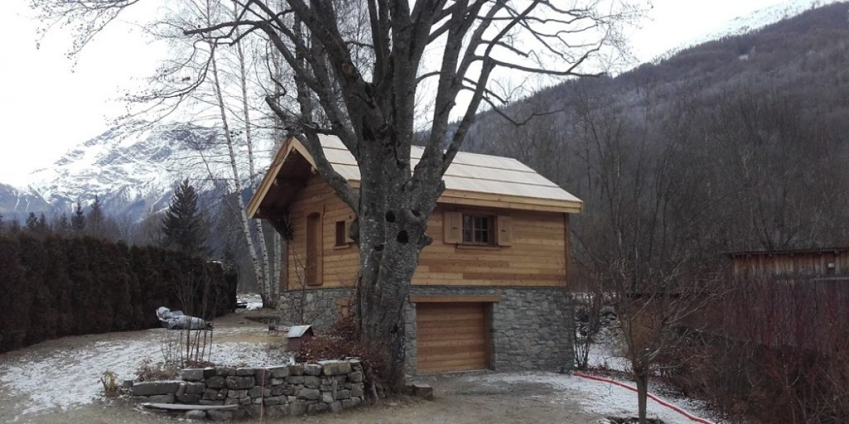 construction neuve champsaur mur ossature bois charpente bois couverture bardeau meleze amc