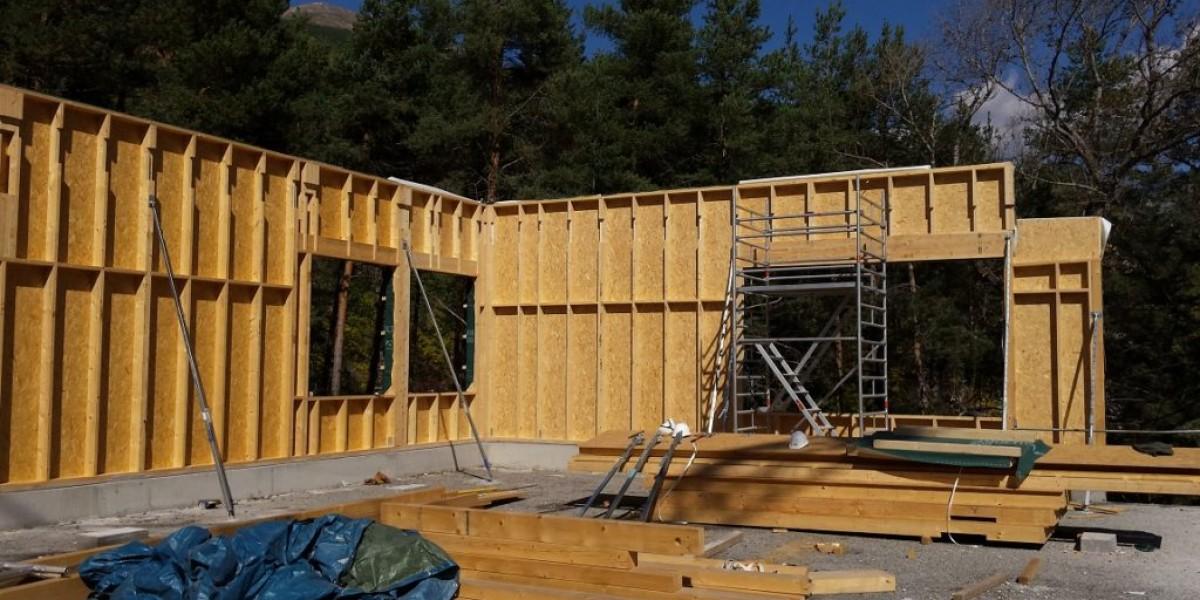 rénovation briancon mur ossature bois amc