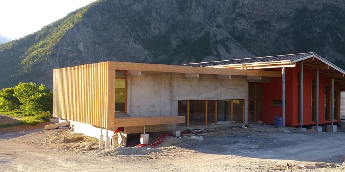 charpente bois reotier construction neuve amc